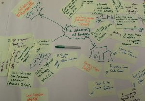 Post-uts and flipchart - Matching use cases to network technology